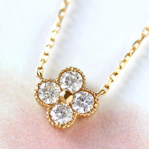ダイヤモンド(VS-SIクラス)×18Kゴールドネックレス・アナイス